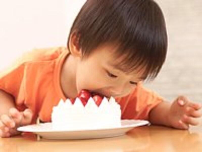 お子さんの年齢段階にあったエネルギー摂取を考えていますか?