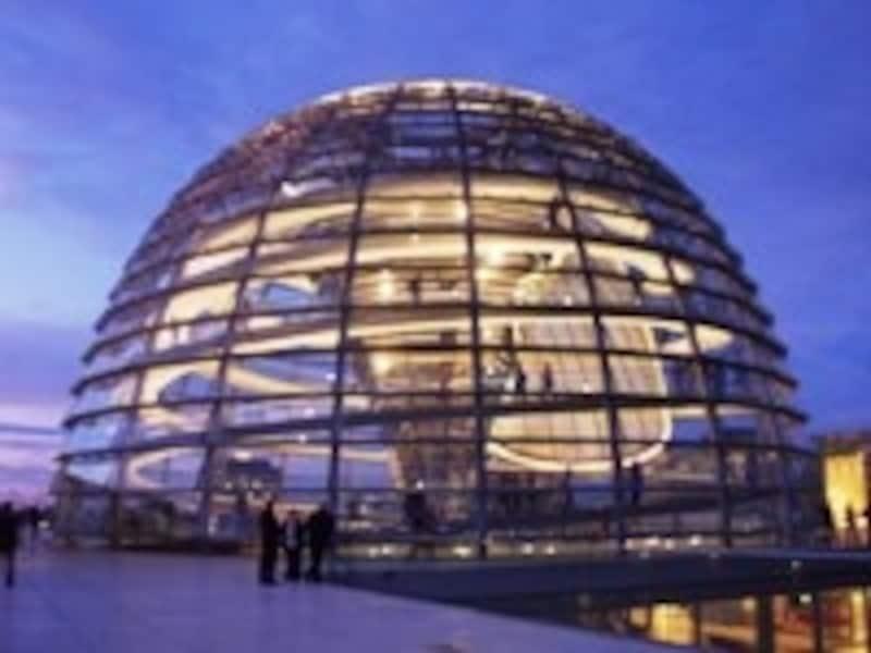 ドイツ連邦議会議事堂のガラスドーム