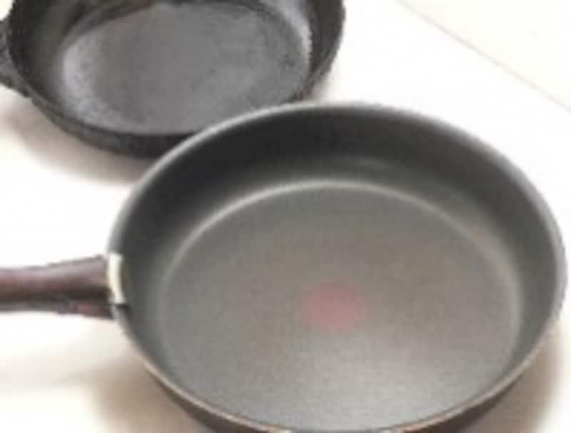 鉄製と樹脂加工とでは、おろし方や使用後の洗い方が違います