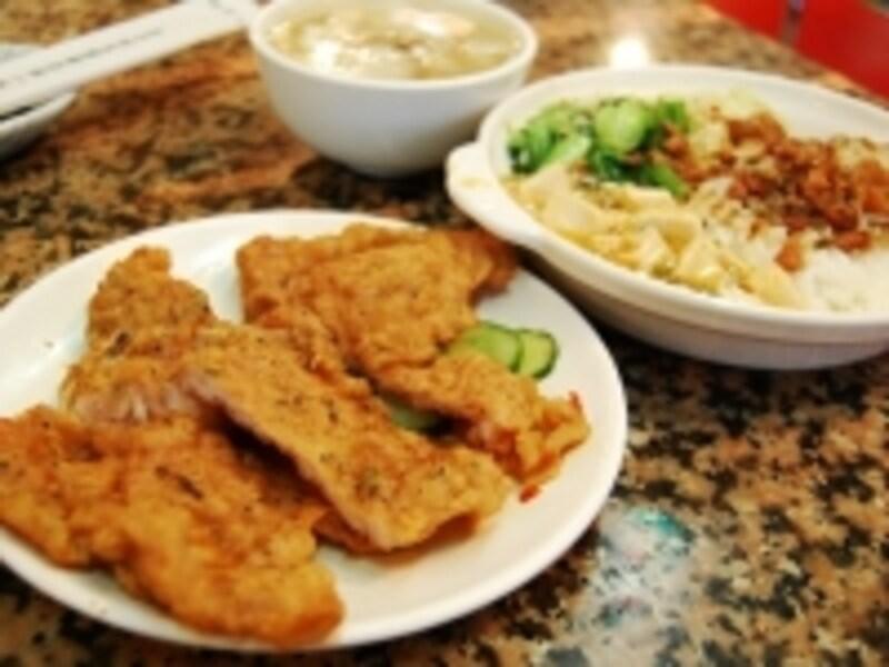 排骨飯のほかに排骨麺もあります