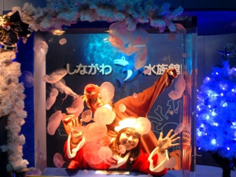 「クリスマスコスチュームで記念撮影」では、衣装不要だがカメラは持参を