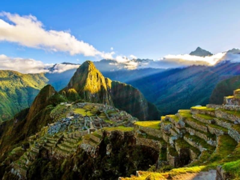 人工の美と自然の美が一体化した絶景