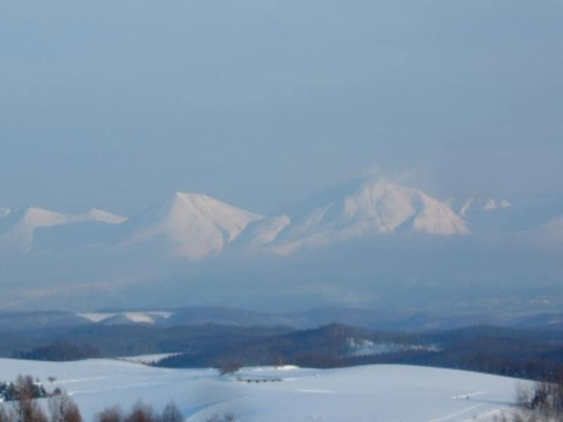 【北海道】美瑛・四季彩の丘から眺める十勝岳連峰