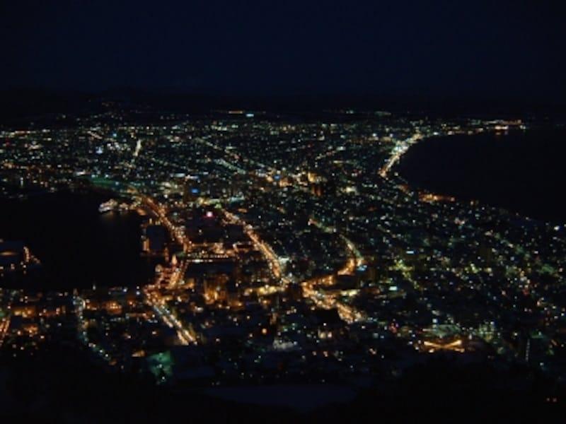 【北海道】函館山の夜景