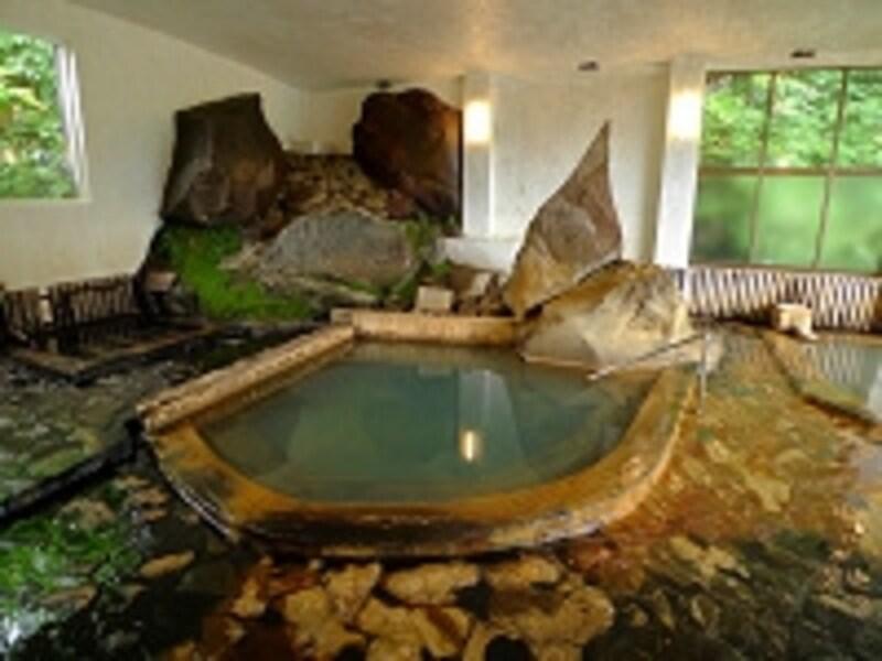 ガイドいちおしの極上名湯!湧駒荘のユコマンの湯