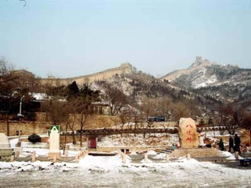 八達嶺の雪景色undefined(C)AbeMie