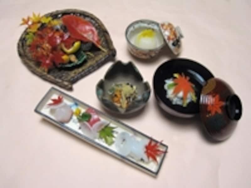 気品漂う「季節の料理(秋)」