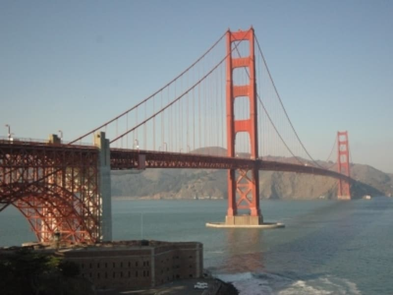 有名観光地の1つゴールデンゲートブリッジ
