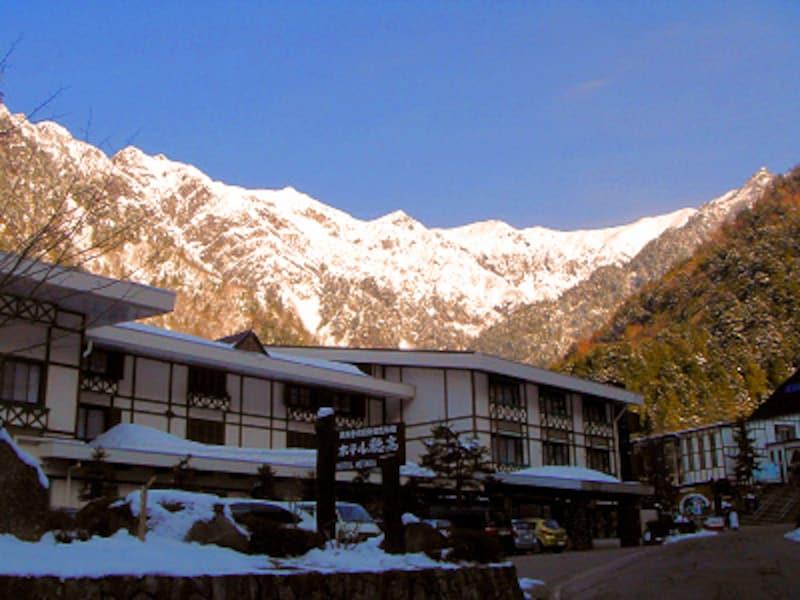 ホテル穂高と百名山 笠ヶ岳