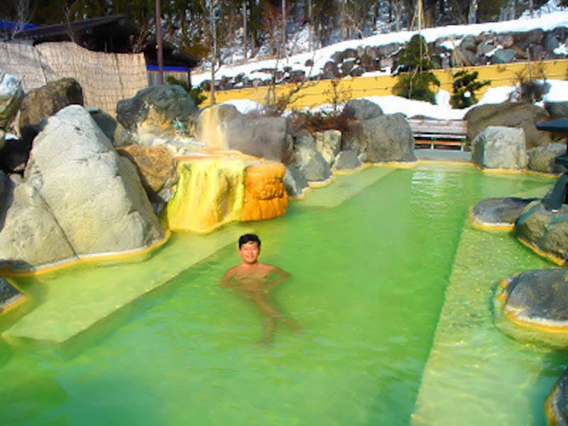 奥飛騨ガーデンホテル焼岳の露天は、湯も風情も素晴らしい!