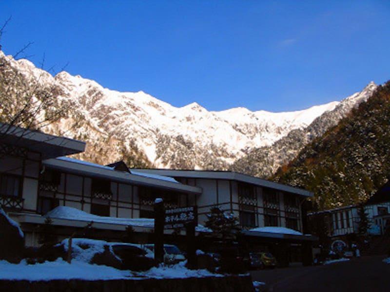 百名山笠ヶ岳の絶景を望む!新穂高温泉ホテル穂高