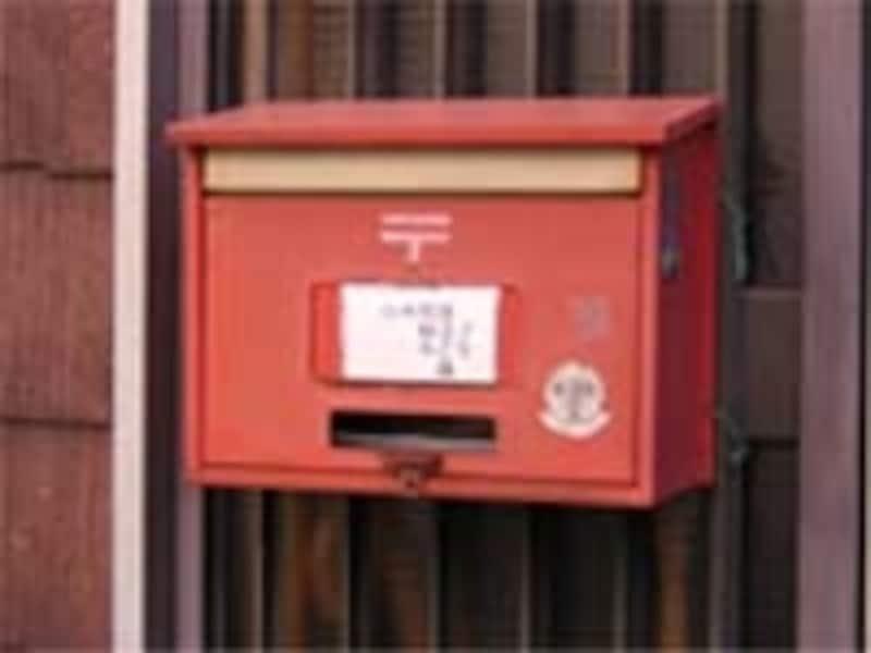 郵便受けには個人情報がたくさん