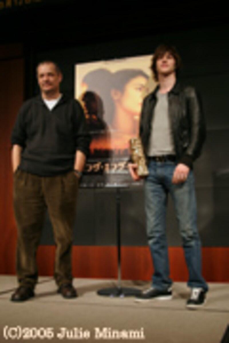 『ロング・エンゲージメント』来日会見。ジャン=ピエール・ジュネ監督とギャスパー・ウリエル氏