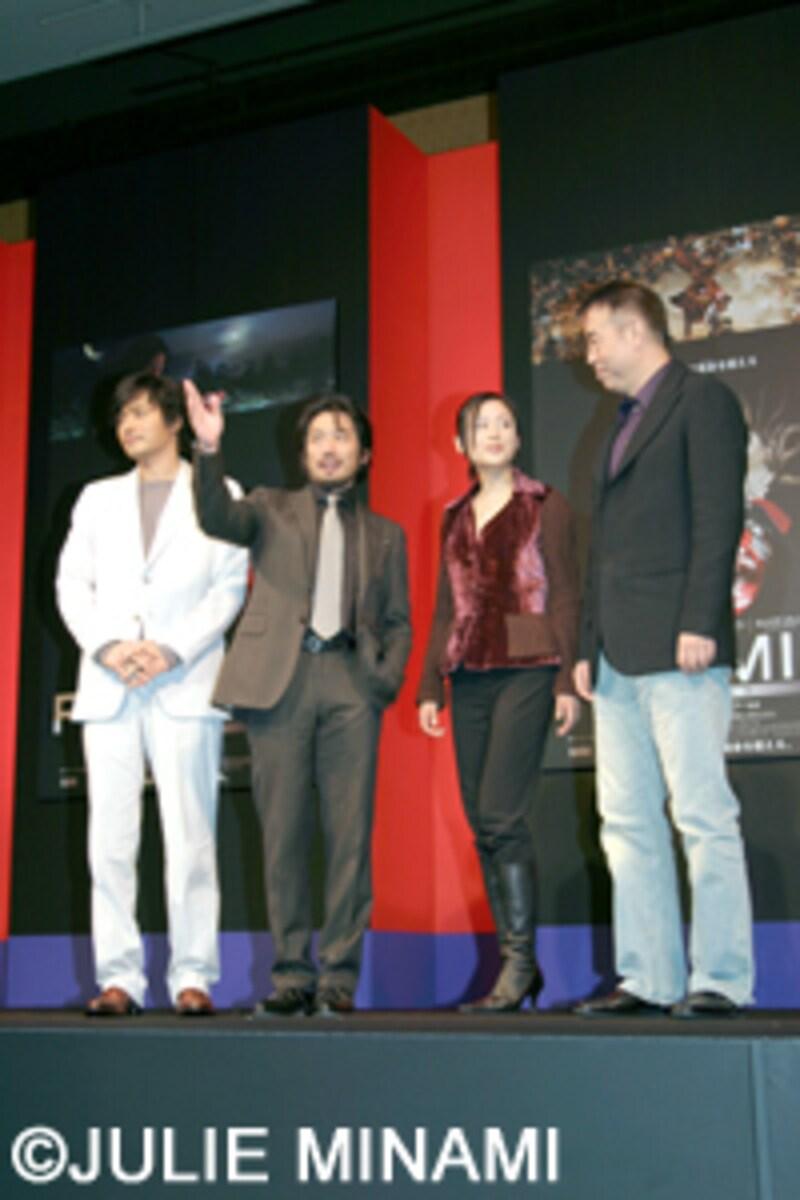 『PROMISE』来日会見-真田広之、チャン・ドンゴン[張東健]、チェン・カイコー[陳凱歌]、チェン・ホン[陳紅]