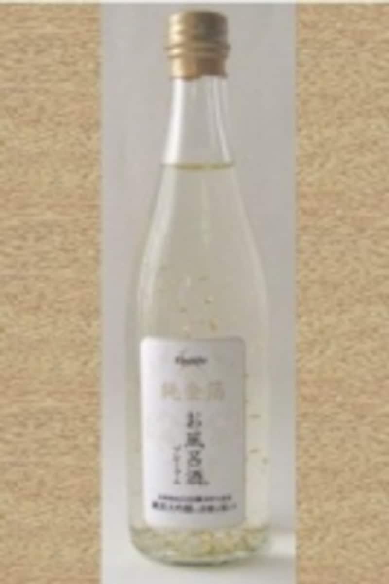 お風呂酒プレミアム純金箔100ミリ(500本限定)1回分undefined1365円(税込)