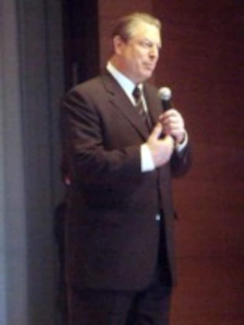 アメリカ元副大統領アル・ゴア