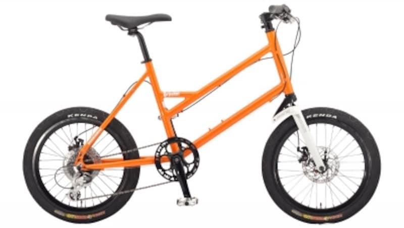 PECフレーム:6061アルミニウムカラー:ミラクルオレンジメタリック、マットブラックタイヤ:ケンダK-104620×1.95インチドライブトレイン:シマノ・ターニーTX1×8速車体重量:11.3kg