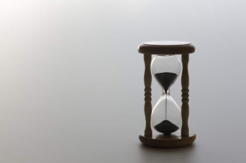 定年退職後の時間が延びている。