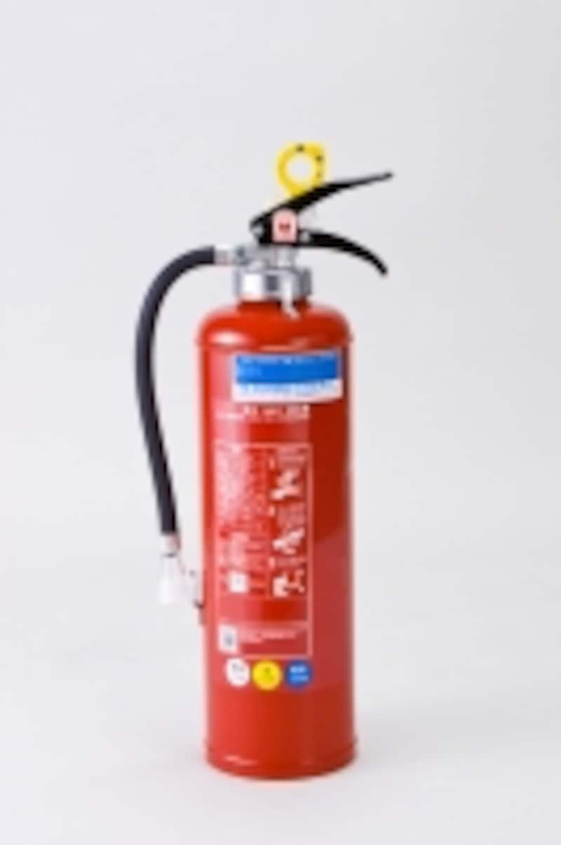使用した消火器の実費が補償される「損害防止費用」