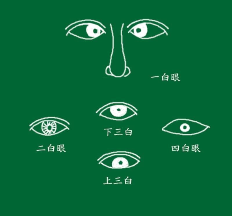 「三白眼」の画像検索結果