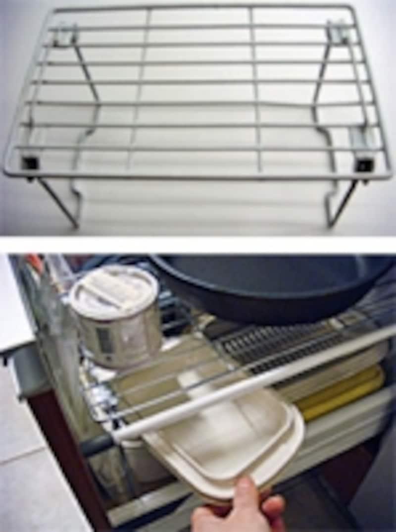 下段には密閉容器を置いてもいい。