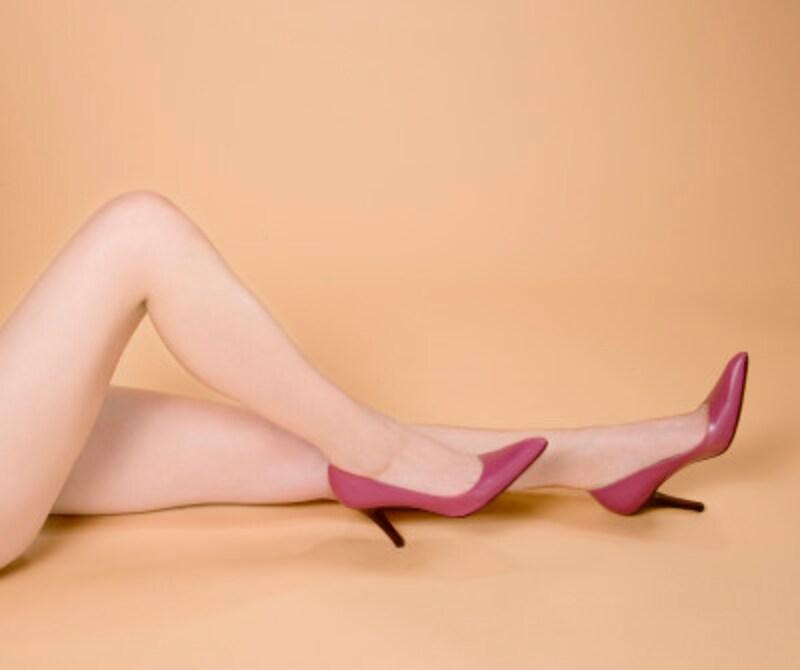 美脚マッサージで「細すぎずメリハリがあって、まっすぐに伸びている」脚に