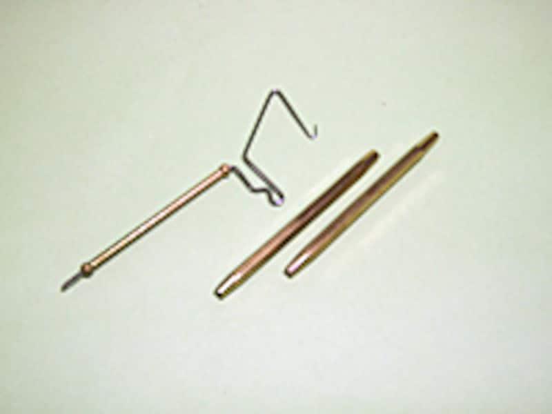 フィニッシュ用の器具も必要。最低でもこの2種類は用意すること。