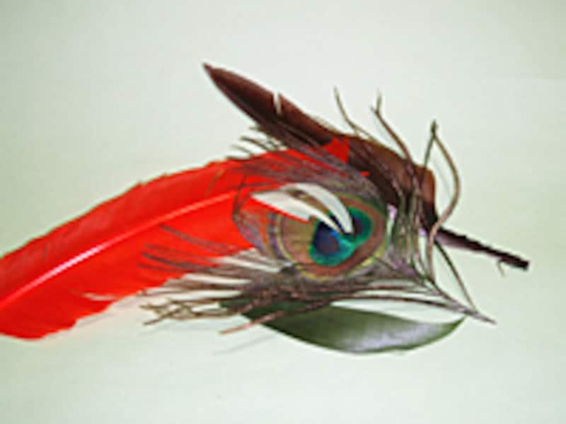 こちらは鳥の羽いろいろ。これにも様々な種類がある。必要なものから少しずつ集めてゆこう。