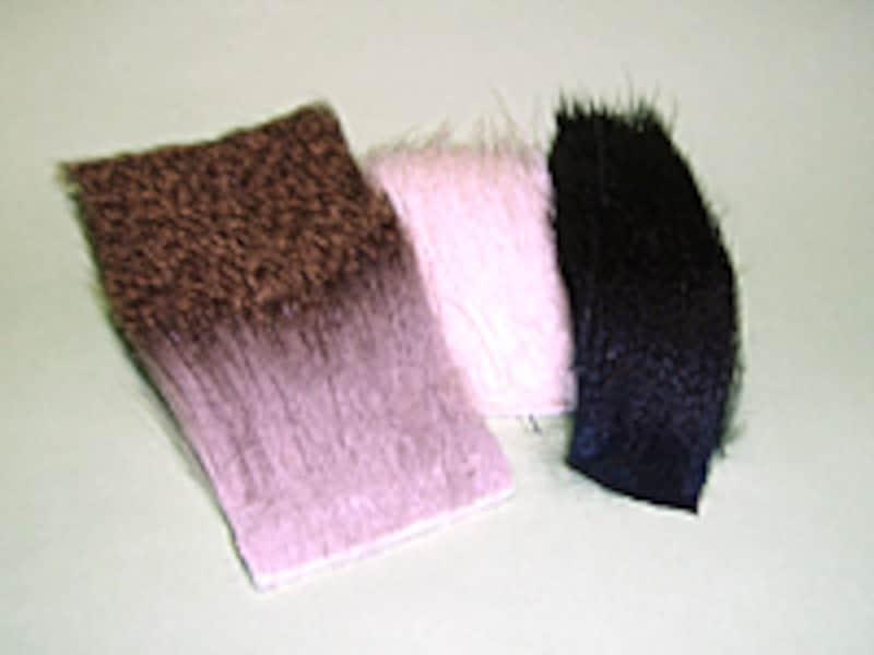 獣毛もすぐれたマテリアル。中でも中空構造の毛はフライの素材としてもっともポピュラーなものになる。