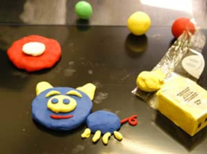 粘土でアニメ製作中