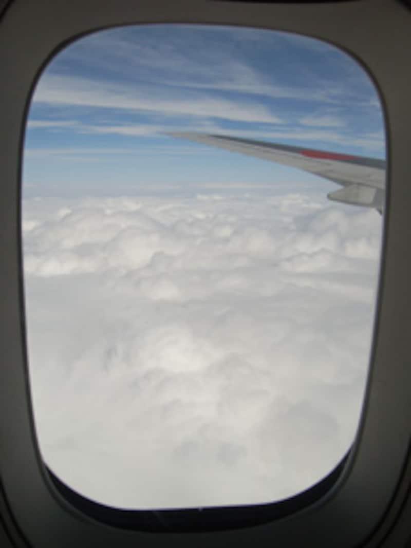 厚い雲で覆われる