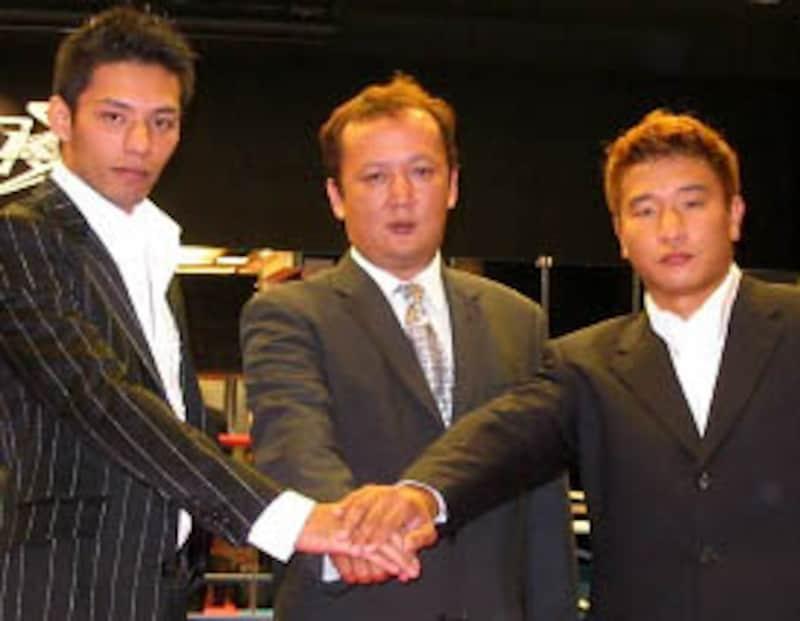 """ボクシング界からの越境者。鈴木悟と大東旭。""""元""""チャンピオン二人のMAXデビューが引き起こした波紋は限り無く大きい。"""