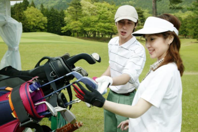 ゴルフ初心者の道具選び