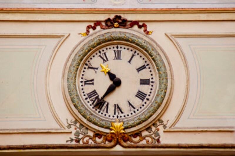 時計の文字盤を見てみよう