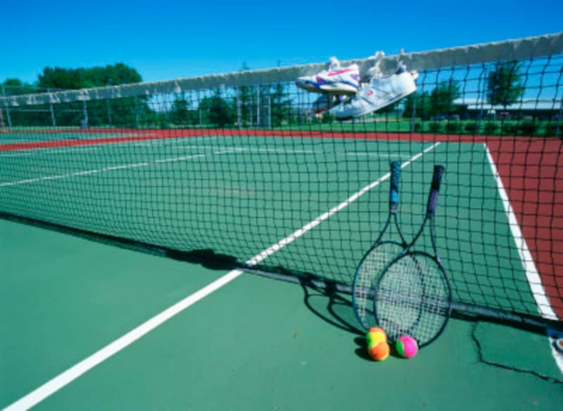 テニスコートのネットの高さは?