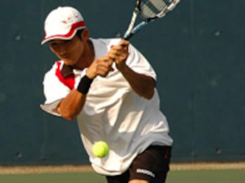 テニス両方両手打ち