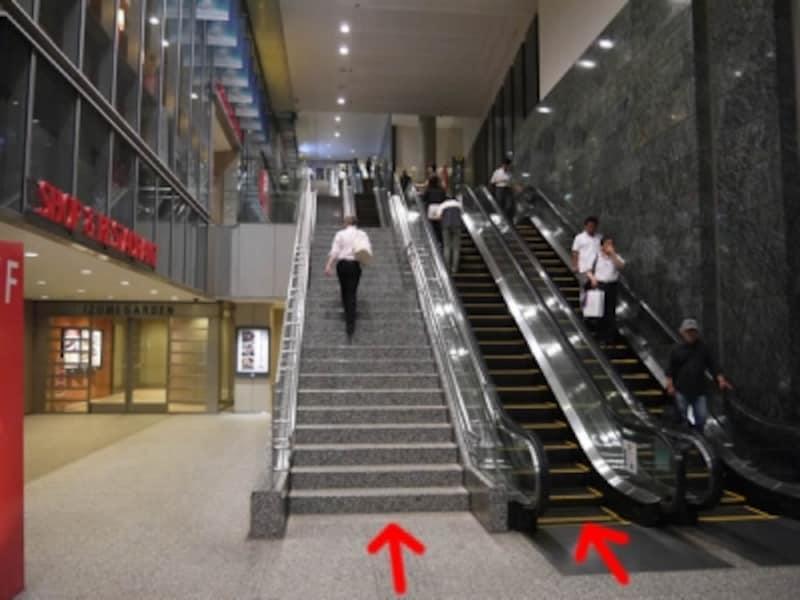 駅のエスカレータとはサヨナラ。3階までなら階段を使おう