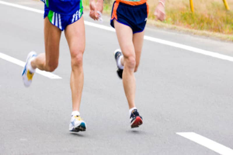 ピーキングマラソンはレース直前練習でクールダウン