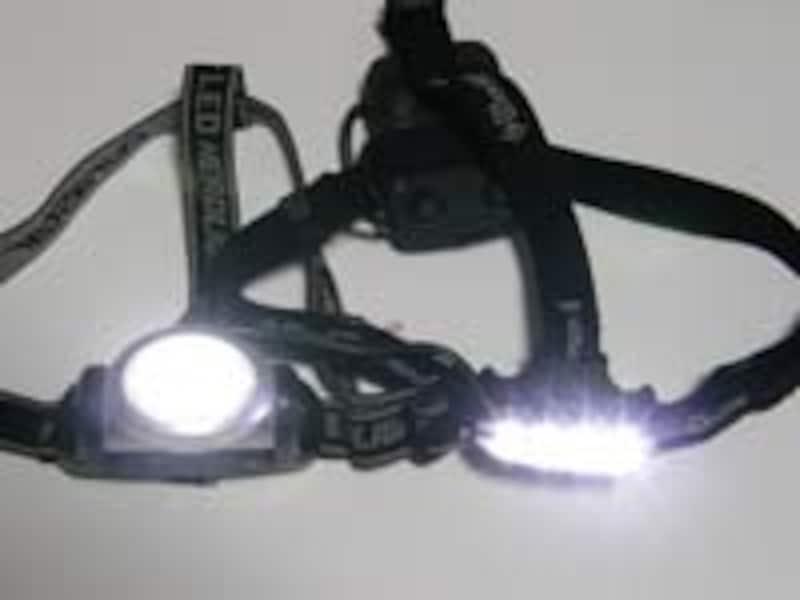 帰宅ランをするなら、LEDのヘッドランプ