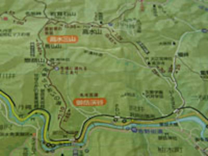 ハイキングのコースタイムに対して何パーセントになるかはすぐに掴める