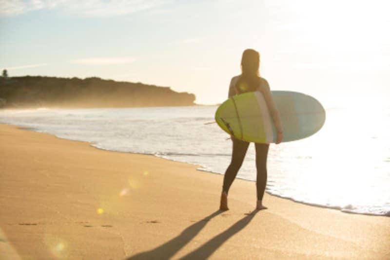 サーフィンの「前乗り」とは?