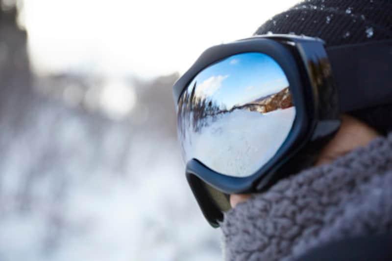 ゴーグルはスノーボードの技術レベルに関わらず、なるべくしっかりと着用しましょう!