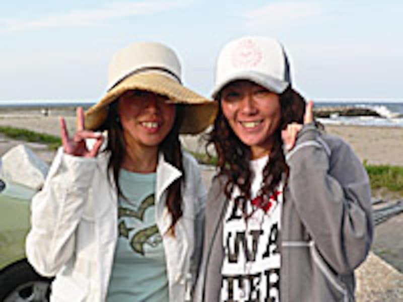 左:太田晶子プロ、右:古山みゆきプロ
