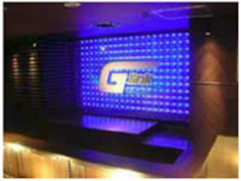 「G-link 渋谷道玄坂店」カウンター
