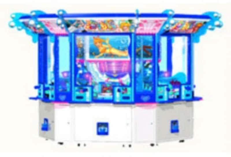 「海物語ラッキーマリンシアター」のゲーム本体(C)SANYOBUSSANCO.,LTD.