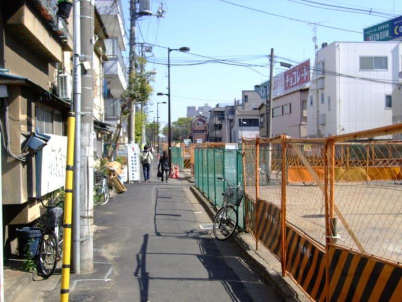 高田馬場駅へ