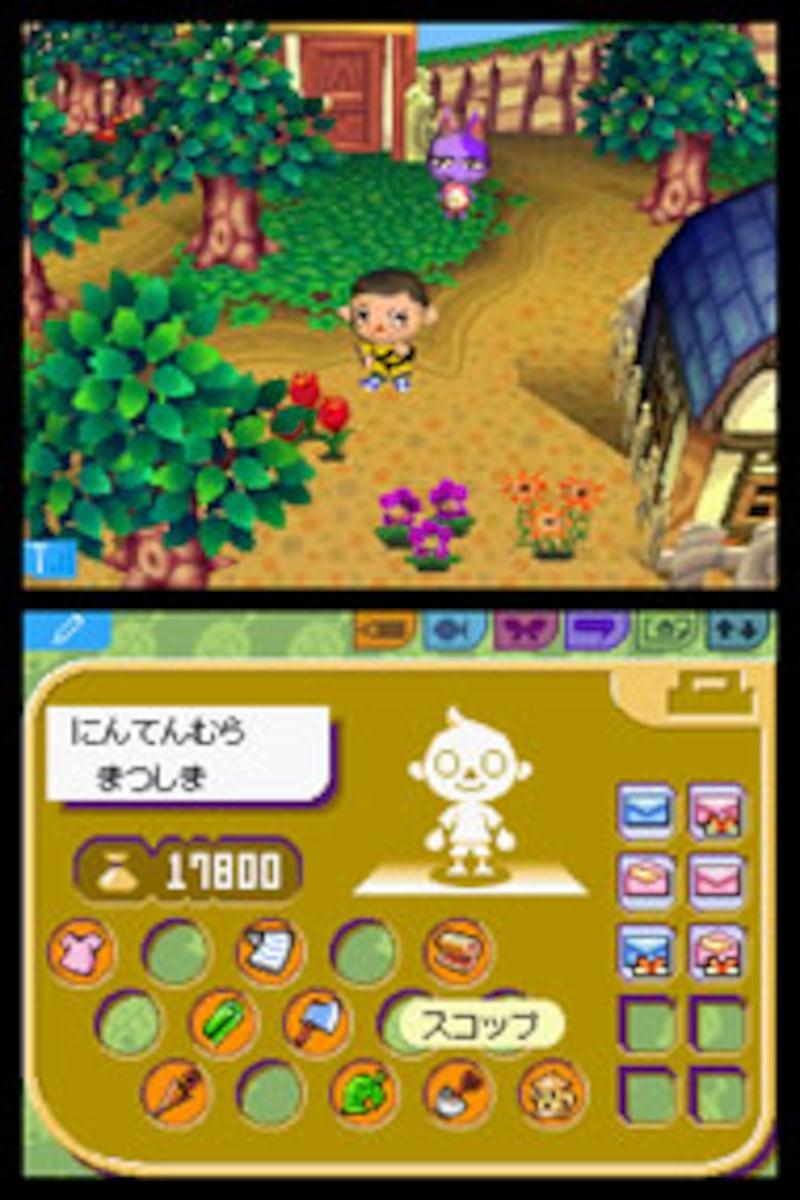 『どうぶつの森DS(仮称)』