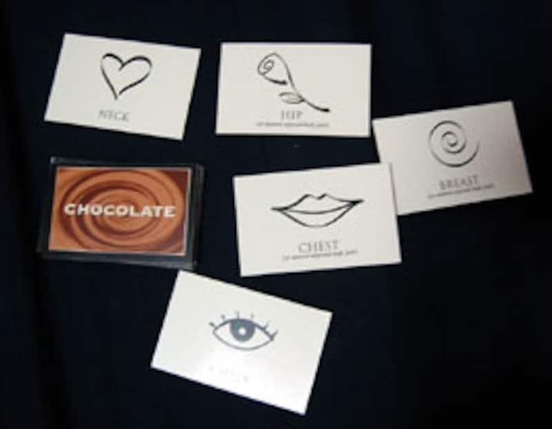 チョコレートカード