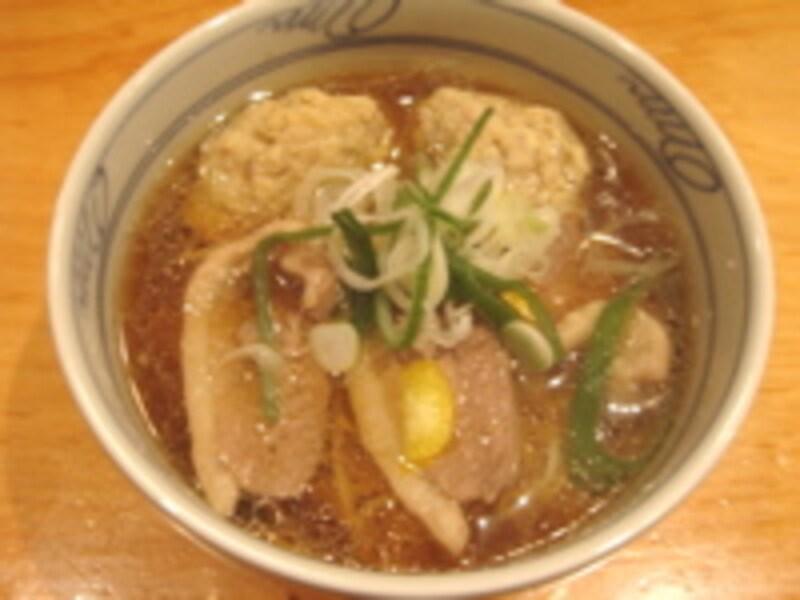 かしわと鴨の中華蕎麦