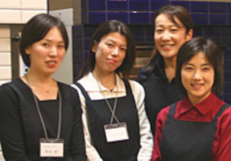 左から宗平さん、井上さん、立木さん、橋本さん